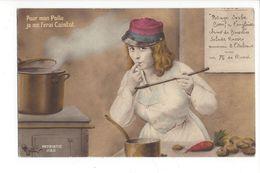 18026 -  Femme Pour Mon Poilu Je Me Ferai Cuistot - Femmes