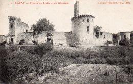 71 LAIZY RUINES DU CHATEAU DE CHAZEUX - Autres Communes