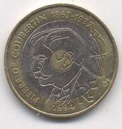 20 FRANCS 1994  COUBERTIN TTB - France