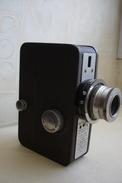 ANCIENNE CAMERA DE MARQUE MUNDUS COLOR  FRANCE  Camera 16 MM Avec Objectif Berthiot Anastigmat F/2.8 - 20mm - Macchine Fotografiche