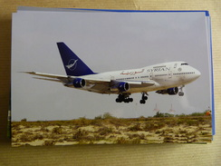 SYRIAN AIR  B 747 SP    YK AHA - 1946-....: Moderne