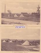 2  CPSM 9X14  De COËTQUIDAN (56) - CAMP -  ILOTS H  &  ILOTS M.O.  1932 - Sonstige Gemeinden