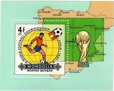 Mongolia / Sport / World Cup 1982 - Mongolia