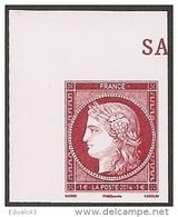 2014 -Salon Du Timbre -n° 4871 Coin De Feuille  -NEUF ** LUXE - Issu Du Feuillet CERES - France