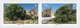 Malta / Malte - Postfris / MNH - Complete Set Bomen 2017 - Malta