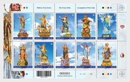 Malta / Malte - Postfris / MNH - Sheet The Assumption Of Our Lady 2017 - Malta