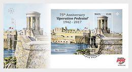 Malta / Malte - Postfris / MNH - FDC 75 Jaar Operatie Pedestal 2017 - Malta