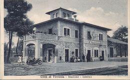 CPA A74 Tirrenia (Province De Pise) Italie Stazione - Interno - Italia