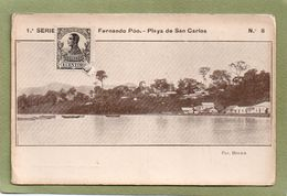 FERNANDO POO  PLAYA DE SAN CARLOS    1 SERIE  NO 8 - Guinée Equatoriale