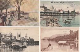 7 / 11 / 103  -  LOT  DE  7  CP  D' ÉVIAN ( 74 )  Toutes Scanées - Cartoline