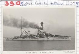 Bateau De Guerre - Cuirasse ( Bretagne ) - Guerra