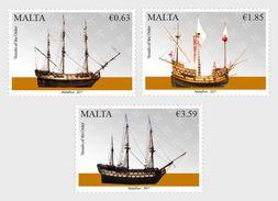 Malta / Malte - Postfris / MNH - Complete Set Schepen 2017 - Malta