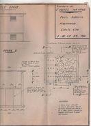 Plan Technique Transformateur 1957 St Michel-sur-Orge (91) - Travaux Publics