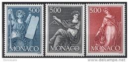 MONACO 1989 -SERIE  N° 1688 A 1690 - NEUFS** - Monaco