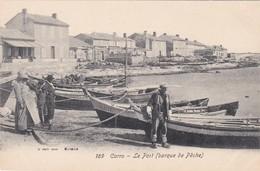 CPA - Carro (13) - Le Port - Barques De Pêche - Autres Communes