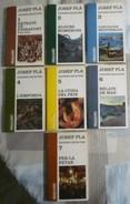PÀGINES SELECTES. JOSEP PLA.  COLECCION DE SIETE LIBROS EN LENGUA CATALANA - Novels