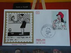 Coté 5€ > Hommage à Jean Effel - 15.10.1983 - 75 Paris - FDC 1er Jour - 1980-1989