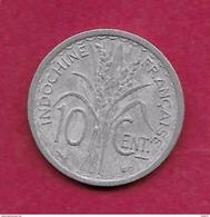 Indochine - 10 Centimes - 1945 - Münzen