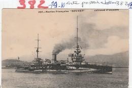 Bateau De Guerre  - Cuirasse D Escadre - ( Bouvet ) - Guerra