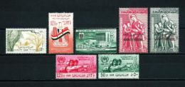Siria  Nº Yvert  131-133-135-136/7-138/9  En Nuevo - Siria