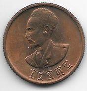 *ethiopia 10 Cent EE1936  Km 34  Bu - Ethiopia