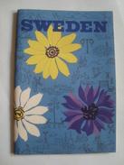 SWEDEN - SVERIGES, 1949. 46 PAGES. FOLD-OUT COLOUR MAP. ENGLISH TEXT. - Dépliants Touristiques