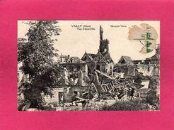 02 Aisne, Vailly, Vue D'Ensemble, Guerre 14-18, 1920 - Guerra 1914-18