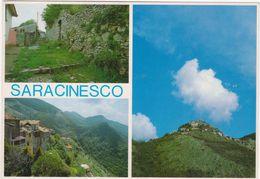 085 SARACINESCO ROMA 3 VEDUTE 1980 CIRCA - Altre Città