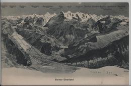 Berner Oberland - Panorama - Grindelwald, Lauterbrunnen, Bönigen, Wilderswil, Mürren, Wengen - BE Berne