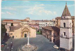 088 BENEVENTO CHIESA E PIAZZA S SOFIA 1968 - Benevento