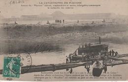"""62 - CALAIS - La Catatrosphe Du """"Pluviose"""" Autour Du """"Pluviose"""" échoué, Scaphandriers Et Marins Infatigables ... - Calais"""