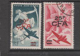 Yvert 45 / 46 Oblitéré - Airmail