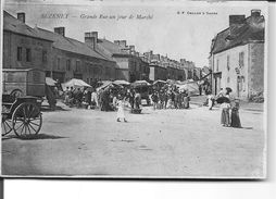 BEZENET - Grande Rue Un Jour De Marché - Francia