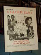 Dictionnaire Des Contemporains ( A-M) Proposé Par La Revue Crapouillot N° 42 Octobre 1958 - Dictionaries