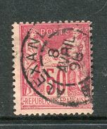 Superbe N° 98 Cachet BFE D' Alexandrie ( Egypte 1898 ) - 1876-1898 Sage (Type II)