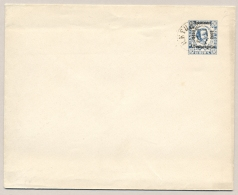 Montenegro - 1893 - 10 Nkr Pre-printed Cover With Overprint - Cancelled, Not Sent - Montenegro