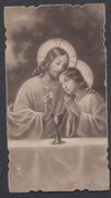Juslenville Lucie Wayaffe 1933 Souvenir De Communion Image Pieuse Religieuse Santini Holy Card - Devotion Images
