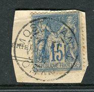 Superbe N° 101 Cachet De Mostaganem ( Oran 1891 ) - 1876-1898 Sage (Type II)