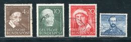 GERMANY 1951 AND 1952 FINE USED - Germany