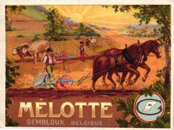 1 Card Publicité .Mélotte Brevet Gembloux  Gembloers Fabrique De Charrues  Cheval De Trait Trekpaard C1910 TRES BIEN - 1900 – 1949