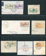 NEW HEBRIDES 1950-1978 POSTMARKS GREAT LOT - New Hebrides