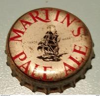Vieille Capsules Kroonkurk Martin' S Pas Ale - Bière