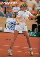 AK Steffi Graf, Adidas, Ca. 1980er Jahre (25142) - Tennis