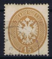 Austria: Lombardei Venetien Mi 18  Obl./Gestempelt/used  1863 - Gebraucht