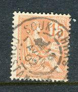 Superbe N° 117 Cachet De Souk-Ahras ( Algérie 1902 ) - Frankreich