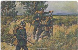 Jägerpatrouille Im Feld - Deutscher Kriegerbund - **19832** - Guerre 1914-18