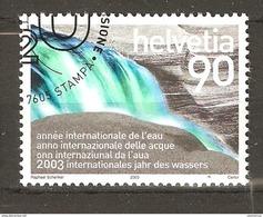 Zu 1081 / Mi 1830 / YT 1752 Année Internationale De L'eau Obl. 1er Jour - Switzerland