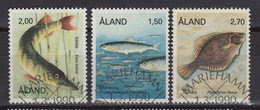 ALAND Yvert 38-40 Used: Fish (1990) - Aland