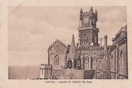 CAPELLA DO CASTELLO DA PENA, CINTRA. CIRCA 1900S. PORTUGAL. - BLEUP - Châteaux
