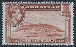 Gibraltar SG122a 1940 Definitive Mounted Mint [35/29641/2D] - Gibraltar